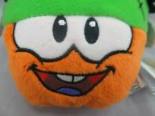 NEW DISNEY CLUB PENGUIN ORANGE PUFFLE COIN CODE SERIES PLUSH FRANKENSTEIN DOLL