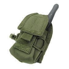 CONDOR MOLLE Modular Tactical Nylon HHR Radio Pouch ma56-001 OLIVE DRAB OD GREEN