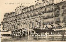 CARTE POSTALE VALENCE LA DROME GRAND HOTEL DE LA CROIX D'OR