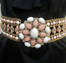 Kenneth Jay Lane Amazing Vintage Jeweled Belt