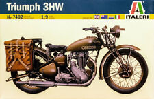 1941 Triumph 3HW Bike Motorrad 1:9 Model Kit Bausatz Italeri 7402