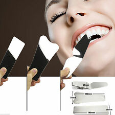 3PCS Orthodontic Intra-Oral Dental Clinic Stainless Steel Photography Mirrors
