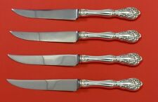 Chateau Rose by Alvin Sterling Silver Steak Knife Set 4pc HHWS Custom 8 1/2""