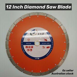 "12"" (300mm) Premium Laser welded diamond saw blade demo saw blade"