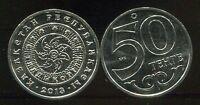 "KAZAKHSTAN 50 TENGE ""TALDYKORGAN"" 2013 COIN UNC"