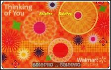 WALMART USA #FD34232 THINKING OF YOU 3D LENTICULAR RARE COLLECTIBLE GIFT CARD