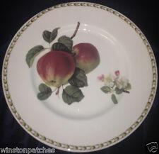 """ROSINA QUEEN'S ENGLAND HOOKER'S FRUIT APPLE DINNER PLATE 10 5/8"""""""