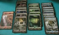 Classic Zendikar Full Art Land Lot, LP-MP, EDH Commander Magic the Gathering