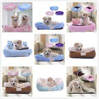 Cute Soft Luxury Comfy Dog/Puppy/Cat/Pet Bed Cushion Fur/Cashmere S/M/L Washable