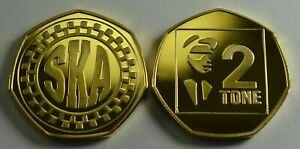 SKA.TWO TONE. 50P COIN COLLECTORS. MUSIC MOVEMENTS. JAMAICAN. 1980s. PUNK