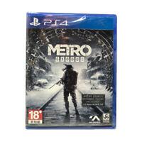 Metro Exodus PlayStation PS4 2019 Chinese English Korean Factory Sealed