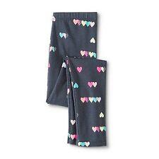 Circo Girls Colorful Hearts Gradual Gray Leggings - Size Medium 7/8 Plus
