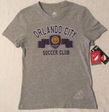 MLS Adidas Orlando City Soccer Club SC The Lions Girl's T-Shirt - Medium 10/12
