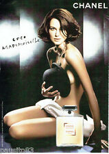 PUBLICITE ADVERTISING 016  2007  Chanel parfum COCO MADEMOISELLE