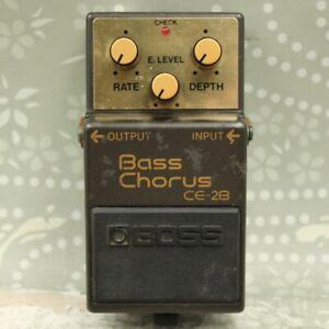 BOSS CE-2B Bass Chorus ACA Vintage Bass Guitar Effect Pedal AE87838