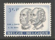 Belgium #B688 (SP332) VF MNH 3fr +1fr Canon Jan-Baptist David and Albert Du Bois