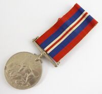 Original Issued Unnamed WW2 Commonwealth  Military 1939 - 1945  Medal & Ribbon