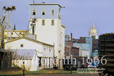 """Boston & Maine RR   Concord NH   Grain elevator  1966   5x7""""photo"""