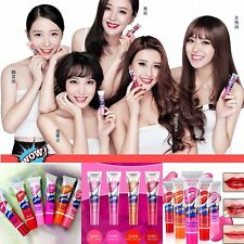 6 Colors Lip Gloss TATTOO Magic Color Waterproof Peel Off Mask Tint Long Lasting
