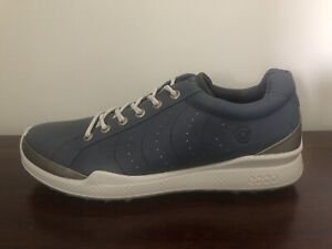 ECCO Golf Biom Classic Hydromax Hybrid Men's Golf Shoes Blue Size 6-6.5 (40)