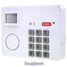 Code Alarmanlage 105 dB Alarm Anlage Hausalarm Garten Haus Schutz kabelos