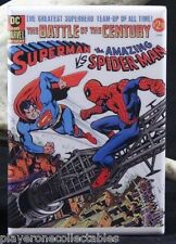 "Superman Vs.The Amazing Spider Man 2"" X 3"" Fridge / Locker Magnet."