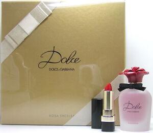 Dolce & Gabbana Dolce Rosa Excelsa 50 ml EDP Eau de Parfum Spray + 3,5g Lipstick
