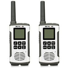 2pcs Retevis RT45 Walkie Talkie Radio PMR446 VOX Room Monitor 8CH Linterna LED