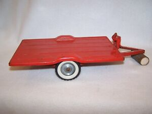 Vintage Tru-Scale Tilt Bed, 2-Wheel Trailer (Good Working Condition)
