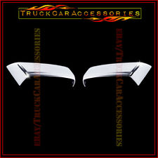 For CHEVY Silverado 2014 2015 2016 2017 18 Chrome Top Half Mirror Mirrors Covers