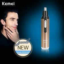 Electric Wet Dry Battery Beard Hair Trimmer Nose Shaver Groomer Remover For Men