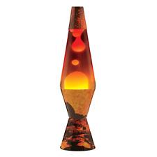 Lava Lite 2149 COLORMAX Volcano Print Lava Lamp with Tri-colored Globe
