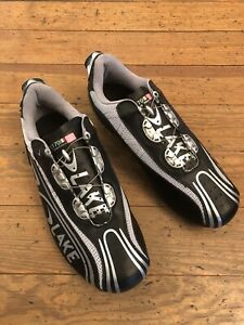 Lake CX170 Black 1988 Gavia Edition Road Cycling Shoes BOA Lacing Mens Size US 5