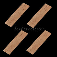 4*Quality Natural Sheet 2mm Bb Clarinet Joint Cork Clarinet Neck
