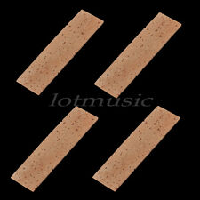4pcs Natural Clarinet Neck Cork Sheet 2mm Bb Clarinet Joint Cork Clarinet Neck