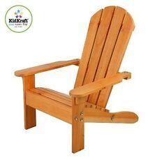 Adirondack Stuhl - Honigfarben Kidkraft 00083 Gartenstuhl für Kinder