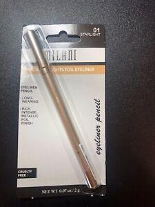 Milani Metallic Lights Foil Eyeliner Pencil #01 STARLIGHT