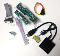 "Arcade1Up 8"" LCD Video Driver Converter Board add HDMI VGA, Early Countercade v1"