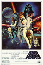 Star Wars - Episode IV New Hope - Classic Movie Poster 24 x 36""