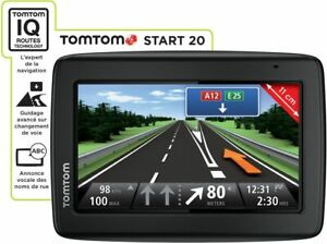 GPS TOMTOM START NAVIGATION AUTOMOBILE CARTES FRANCE & EUROPE 45 ALERTES RADARS