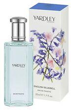 Yardley English Bluebells Eau de Toilette Spray 50 ml 1.7 oz New And Sealed