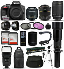 Fotocamere digitali nero Nikon D3300
