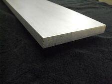 "3/8"" x 8"" x 66"" long Aluminum Flat Bar Sheet Plate 6061 Mill Finish"