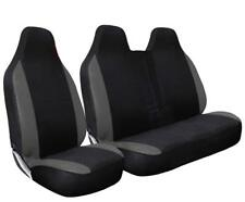 MERCEDES VITO 2011 - DELUXE GREY PATCH VAN SEAT COVERS SINGLE + DOUBLE
