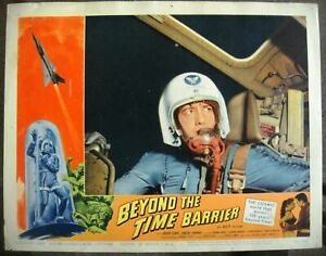 """BEYOND THE TIME BARRIER Lobby Card #8 Movie Poster 11x14"""" Sci-Fi Film 1959/247"""