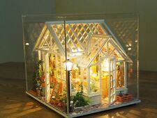 Dollhouse Miniature DIY Kit w/ Cover Florist Flower Shop Store Sosa 3D Model NEW
