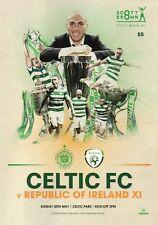 Celtic v Republic Of Ireland XI - Scott Brown Testimonial - 20 May 2018 - Mint.