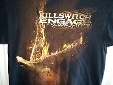 Killswitch Engage Medium T-Shirt Phoenix on fire