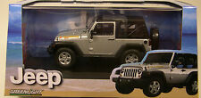 SILVER 2010 JEEP ISLANDER GREENLIGHT 1:43 SCALE DIECAST METAL MODEL JEEP