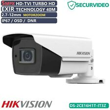 Telecamera Bullet Compatta Turbo HD 3,6 mm HIKVISION DS-2CE16H1T-IT3